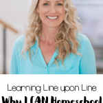 I have gained confidence in myself that I can homeschool because I realize learning and teaching happen one step at a time.