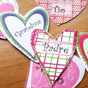 Simple Spanish Valentine Activity for Beginning Spanish Class
