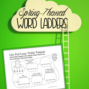 Practice Spelling and Vocabulary with Word Ladders