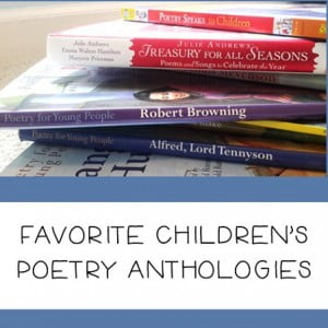 Resources of the Week: Poetry Anthologies for Children (+ a Freebie)