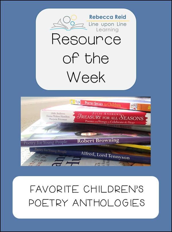 resource of week poetry antho