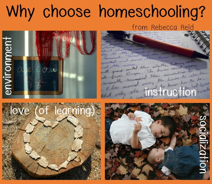 why choose homeschooling