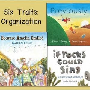 Six Traits Sunday: Organization