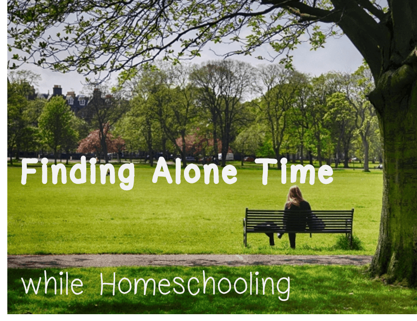 alone time while homeschooling
