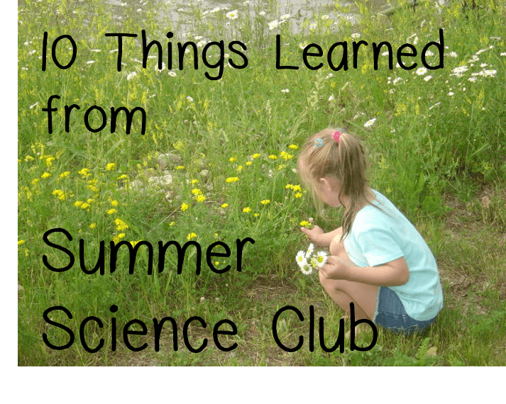 summer science club