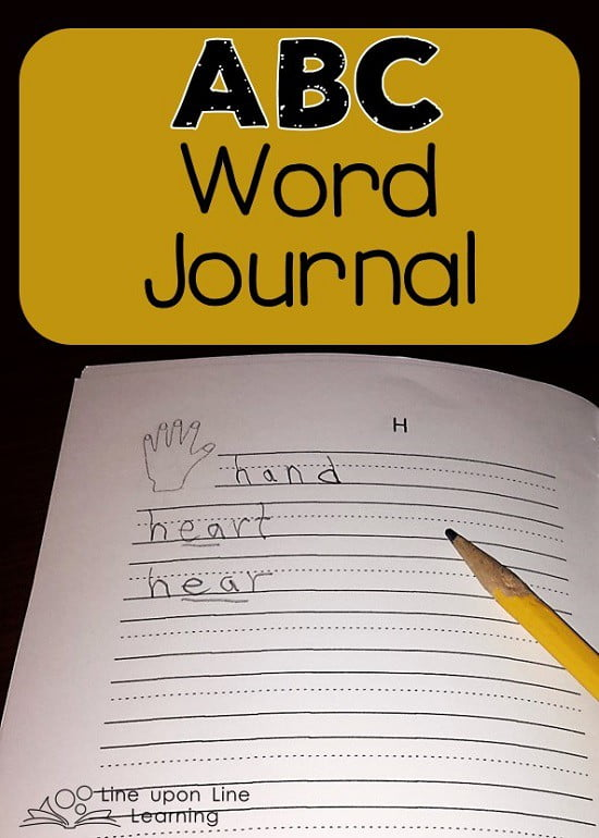 abc word journal