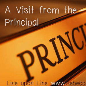 "A Visit from the ""Principal"""