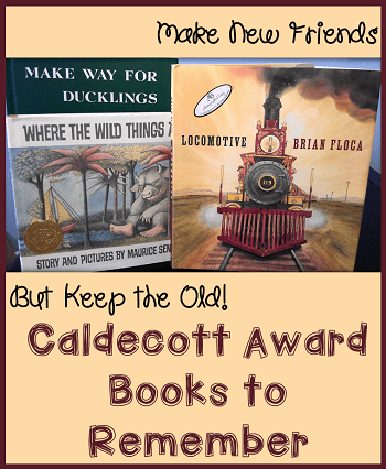 caldecott award books to remember