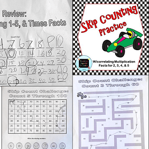 Skip Counting Fun: Resource Swap and Review