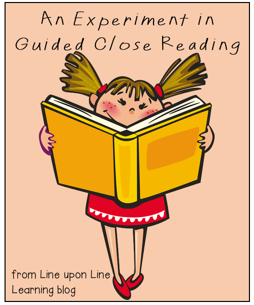 An Experiment in Close Reading | Line upon Line Learning blog