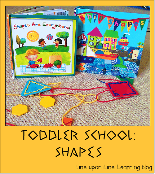 toddler school shapes