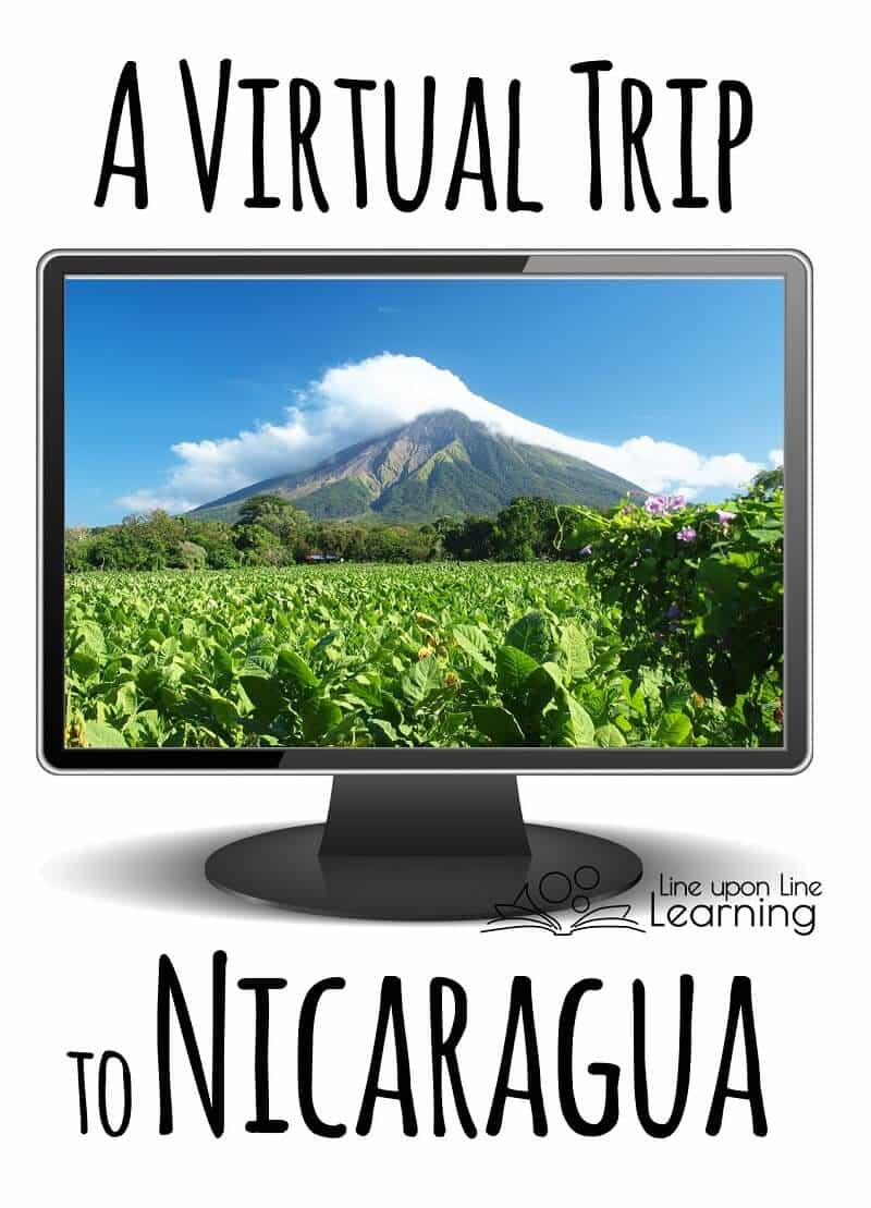 We pretended to take a vacation for a virtual trip to Nicaragua.