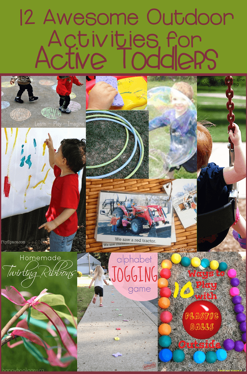 Outdoor Activities For Active Toddlers