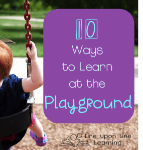 10 Ways To Learn at the Playground