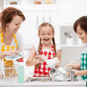 A Happier Home: Working with Your Kids + Giveaway