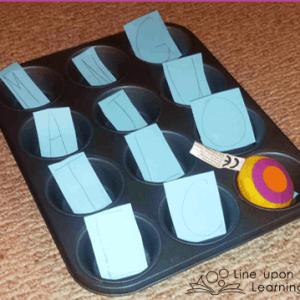 Muffin Tin Phonics {A Pinteresting Project}