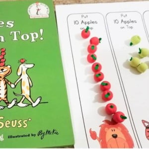 Apple Busy Box Activities from Toddler to Kindergarten