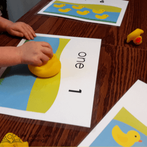Ducky Counting Mats Game