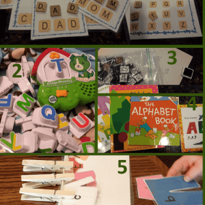 ABCs Workbox Ideas