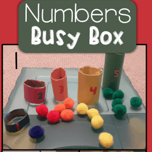 Numbers Busy Box