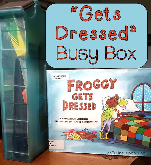 Froggy gets dressed busy box line upon line learning gets dressed busy box pronofoot35fo Images