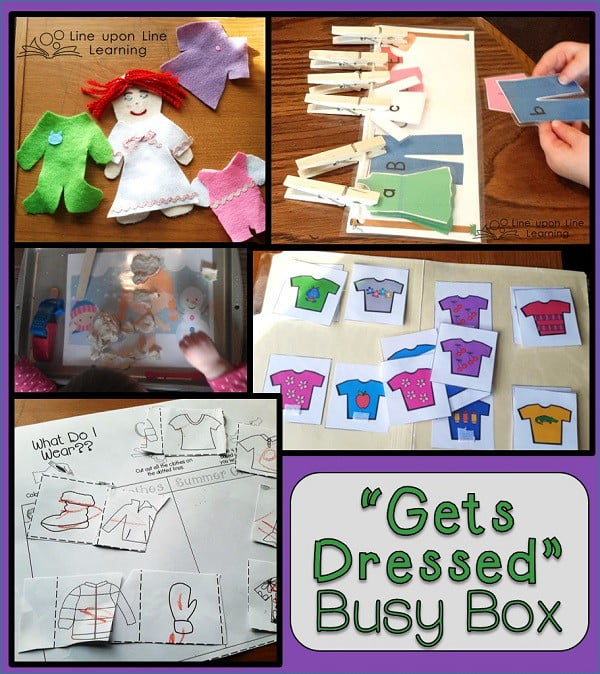 Froggy gets dressed busy box line upon line learning gets dressed busy box2 pronofoot35fo Images