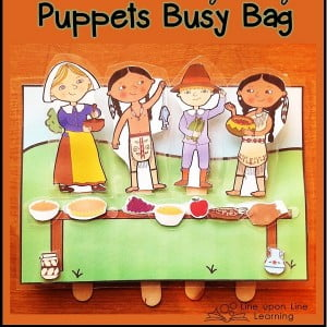 The First Thanksgiving Puppets Busy Bag