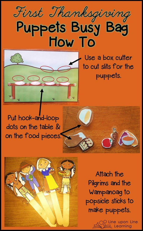Learning about the First Thanksgiving Story with Printable ...