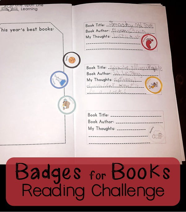 badges for books