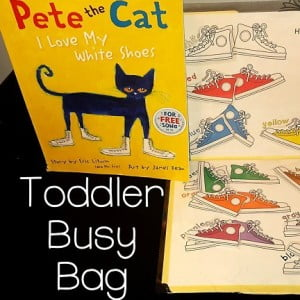 Toddler Busy Bag {Workbox Wednesday}
