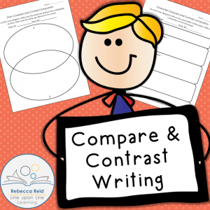 Mentor Text Monday: Goal Setting Compare Contrast