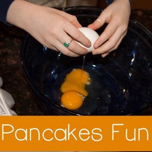 Kids in the Kitchen: Pancakes Fun