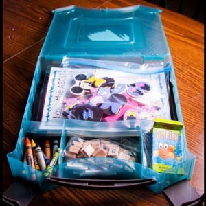 Toddler Busy Box Organization (Workbox Wednesday)