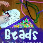 Beads and Pipe Cleaners Play Time | Line upon Line Learning blog
