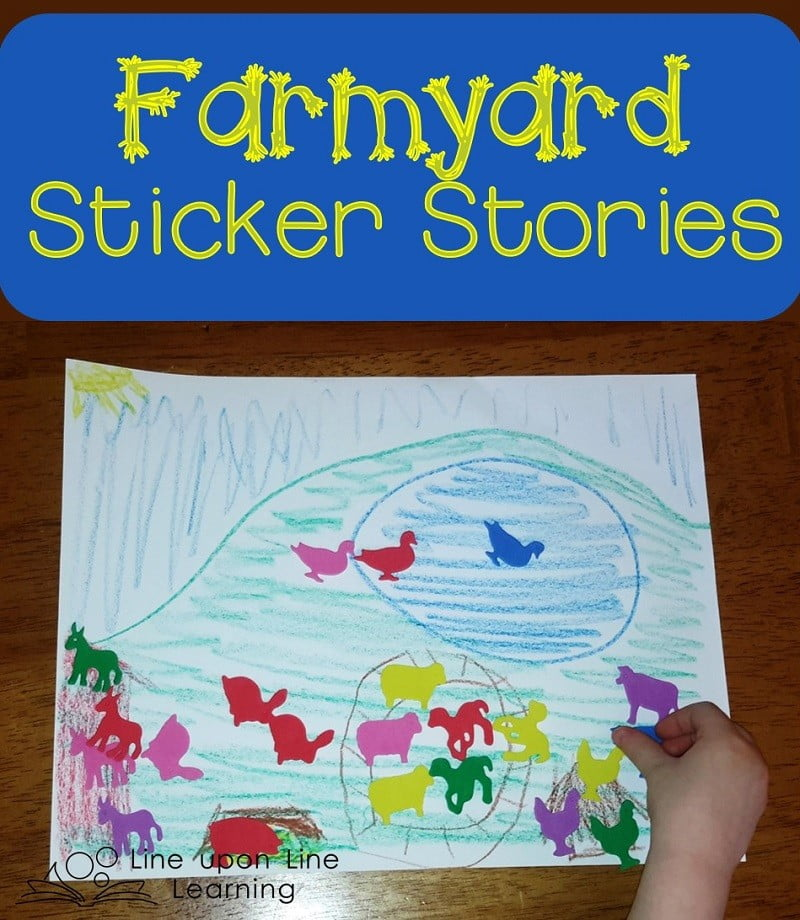 Farmyard Sticker Stories