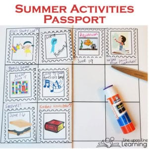 Summer Fun: Summer Activities Passport