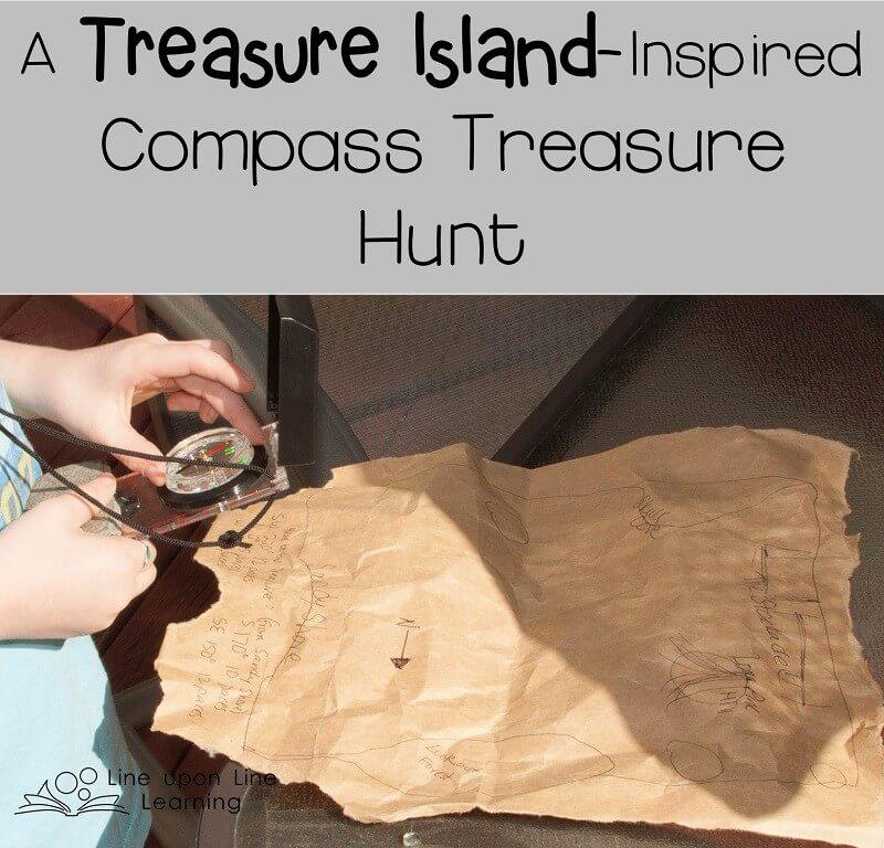 A Treasure Island-Inspired Compass Treasure Hunt