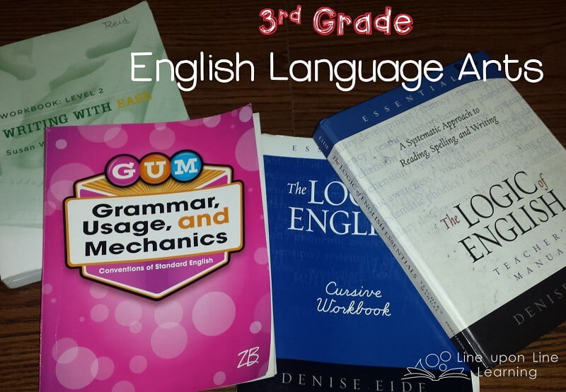 Third Grade Language Arts Homeschool