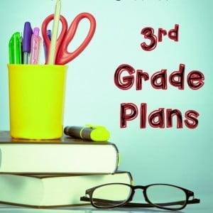 Homeschool Curriculum 3rd Grade Plans for 2015-2016