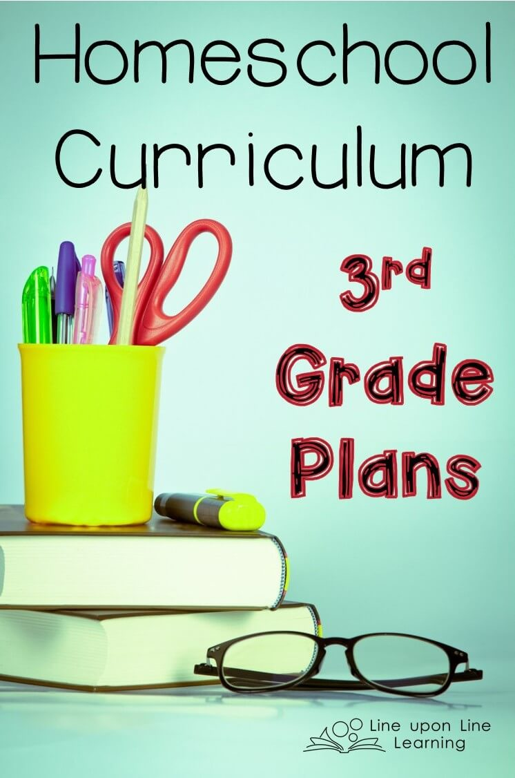 Homeschool Curriculum 3rd Grade Plans