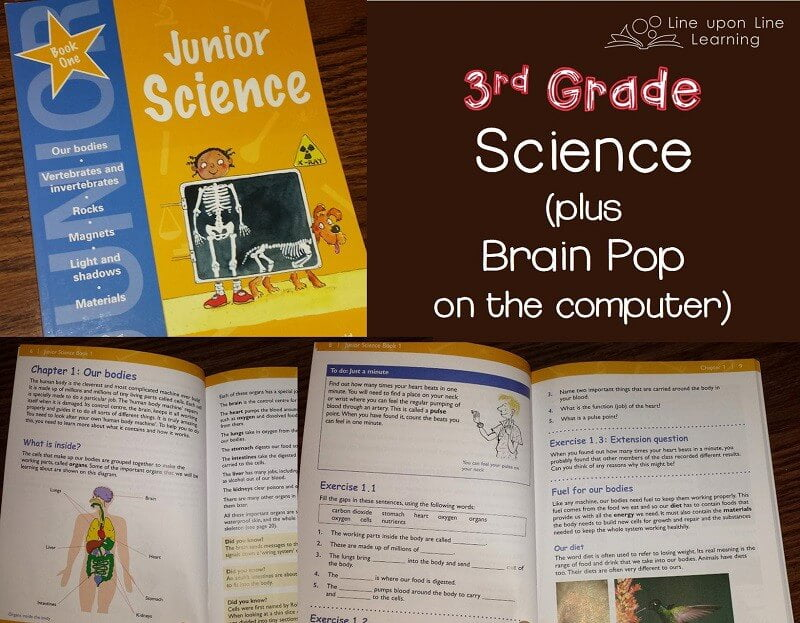 Third Grade Science for Homeschool