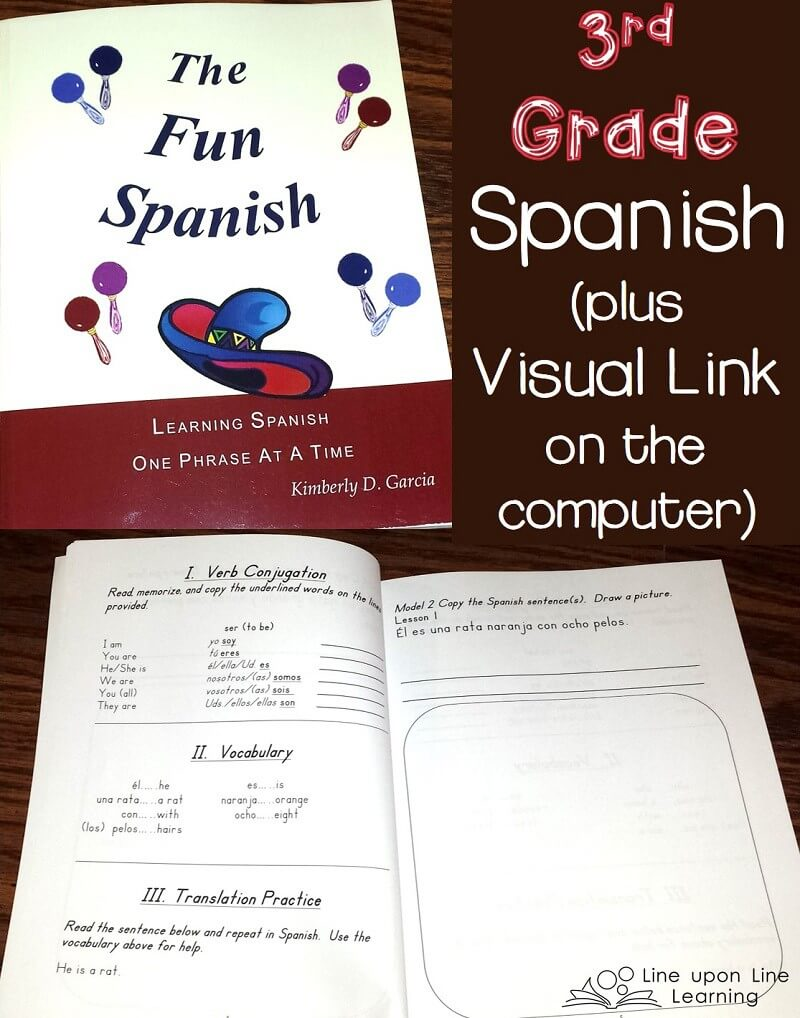 Third Grade Spanish for Homeschool
