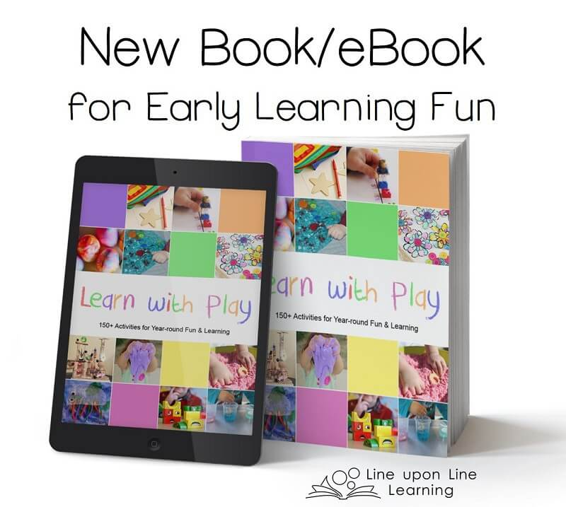 Learn with Play contains more than 150 ideas for making play time into learning time!