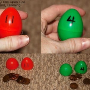 Understanding Number Concepts with Plastic Eggs