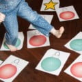 A Christmas Gross Motor Skills Number Recognition Activity