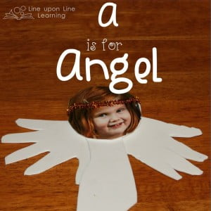 A is for Angel Kids Craft