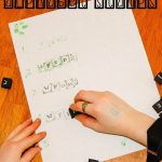Spelling Practice with Alphabet Stamps