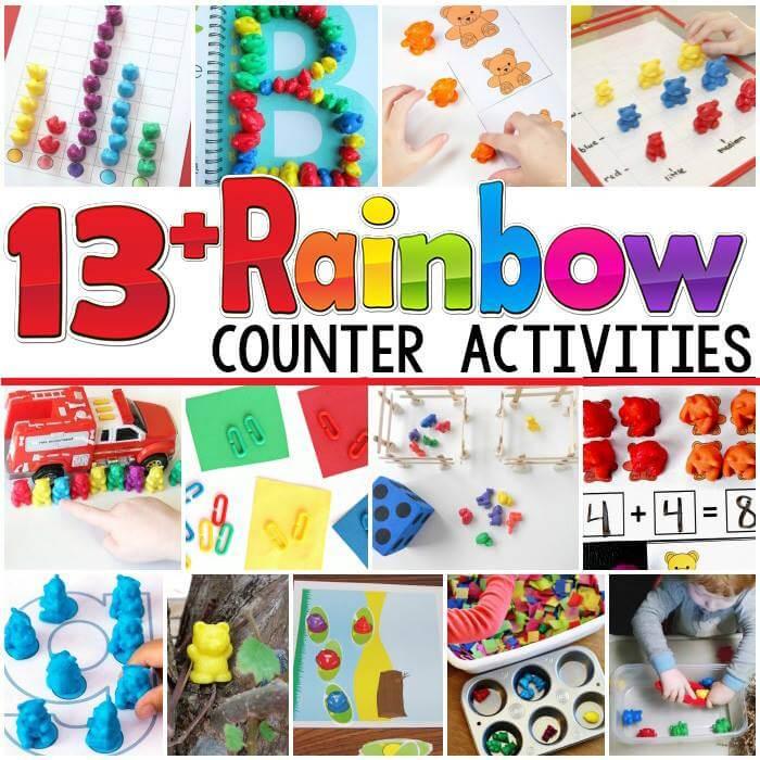 rainbow counters