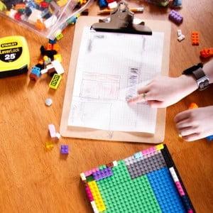 STEM Challenge: Build a Bedroom Model with LEGO Bricks