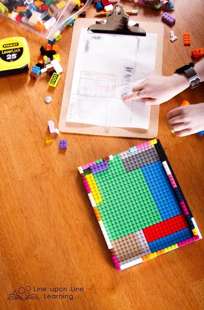 STEM Challenge: Build a Bedroom Model with LEGO Bricks – Line upon ...